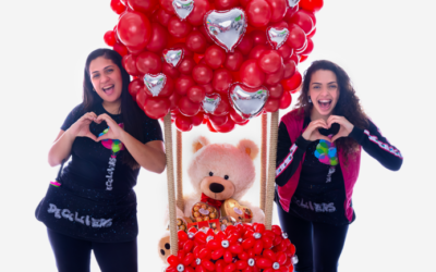 Hermanas venezolanas ganan Récord Guinness a la frase más larga hecha con globos