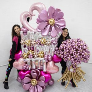 LUXURY FLORES DECORACIONES GLOBOS BALLOON BOUQUET BALLOON FLOWERS MIAMI CARACAS