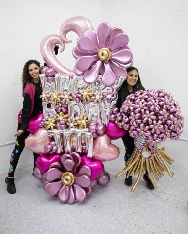LUXURY FLORES DECORACIONES GLOBOS BALLOON BOUQUET BALLOON FLOWERS MIAMI CARACAS