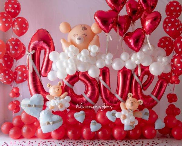 Amor DecoracionesGlobos.com Miami Venezuela Bouquets Decoraciones