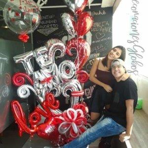 Amor DecoracionesGlobos.com Miami Venezuela Bouquets Decoraciones Athens