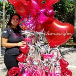 Mama DecoracionesGlobos.com Miami Venezuela Bouquets Decoraciones