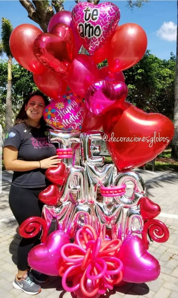 Balloon Bouquets Farah Decoraciones Globos