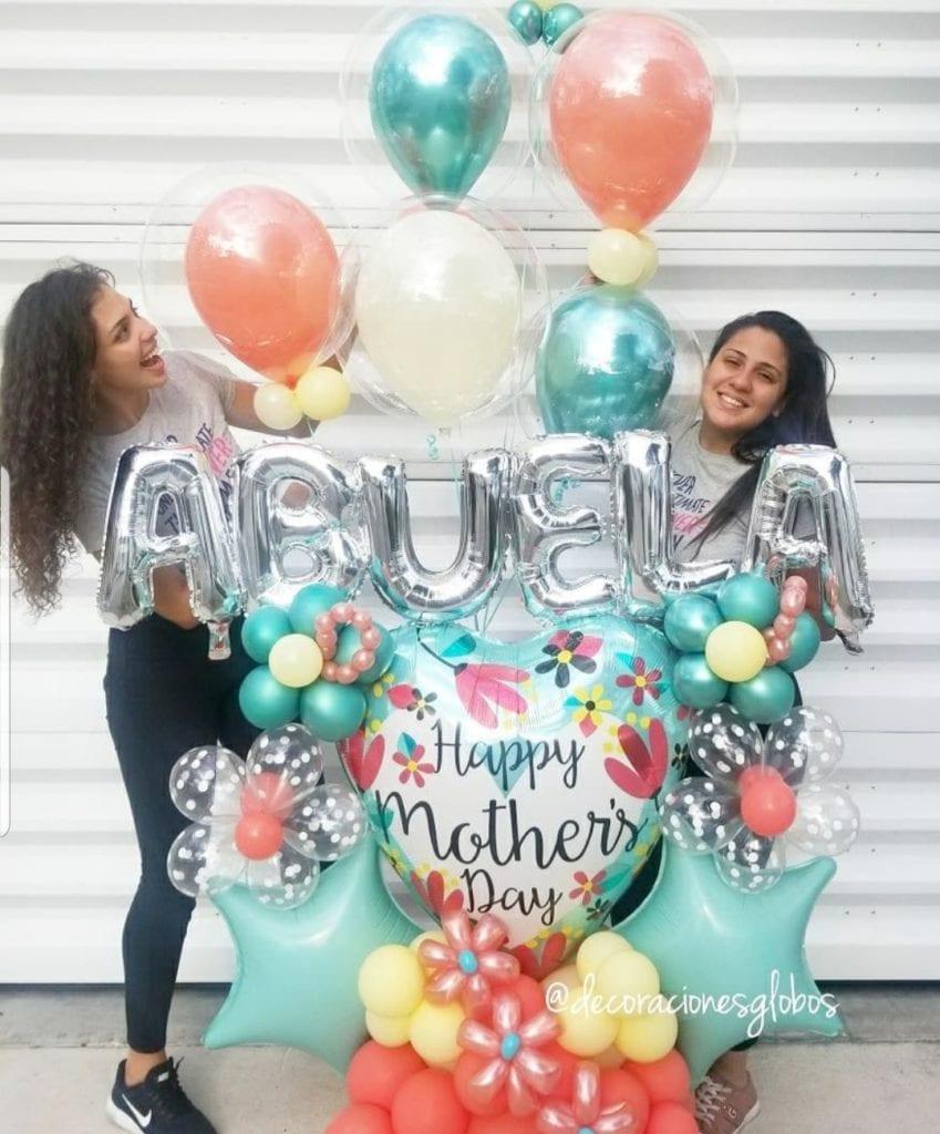 Grandma Balloons Bouquet Decoraciones Globos