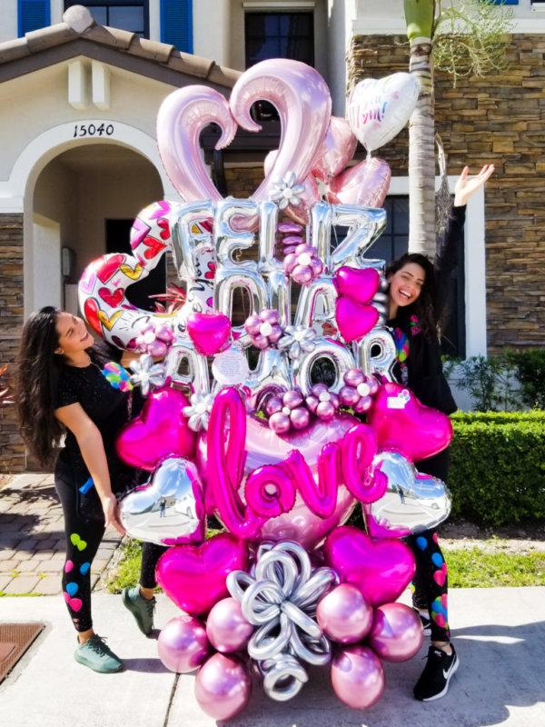DecoracionesGlobos.com Miami Venezuela Bouquets Decoraciones Amor