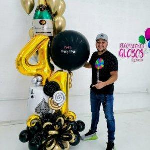 BOUQUET REY DAVID Birthday DecoracionesGlobos.com Miami Venezuela Bouquets Decoraciones