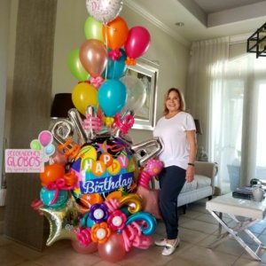 Birthday DecoracionesGlobos.com Miami Venezuela Bouquets Decoraciones