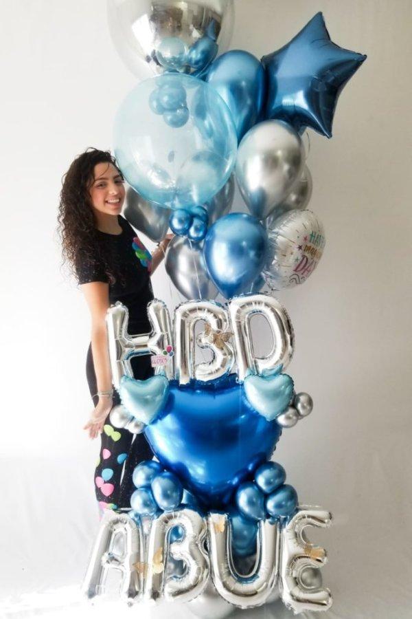 BOUQUET HBD Birthday DecoracionesGlobos.com Miami Venezuela Bouquets Decoraciones