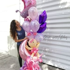New Baby DecoracionesGlobos.com Miami Venezuela Bouquets Decoraciones