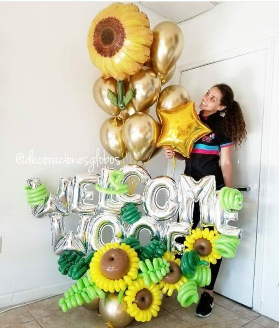 Welcome DecoracionesGlobos.com Miami Venezuela Bouquets Decoraciones