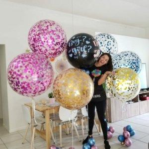 revelar el sexo DecoracionesGlobos.com Miami Venezuela Bouquets Decoraciones