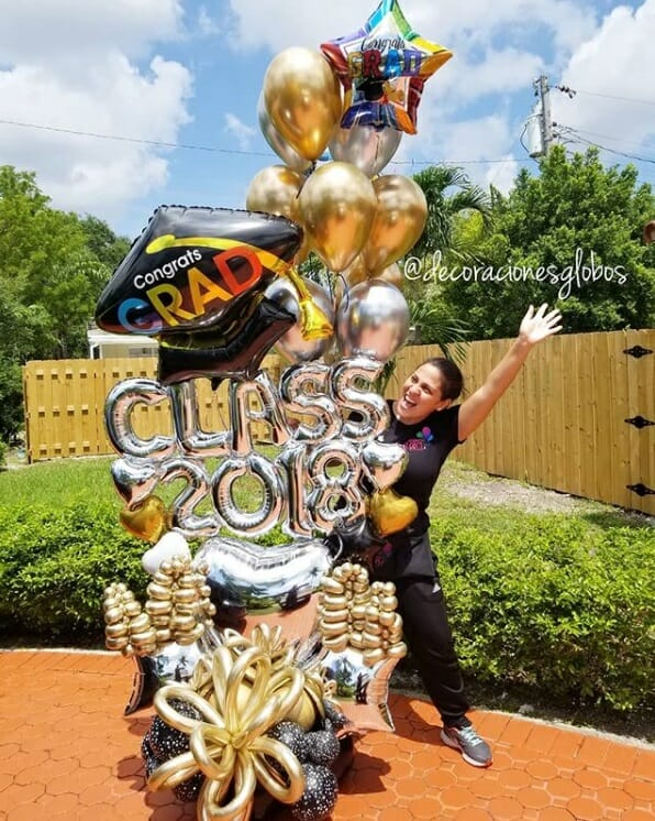 Promo DecoracionesGlobos.com Miami Venezuela Bouquets Decoraciones