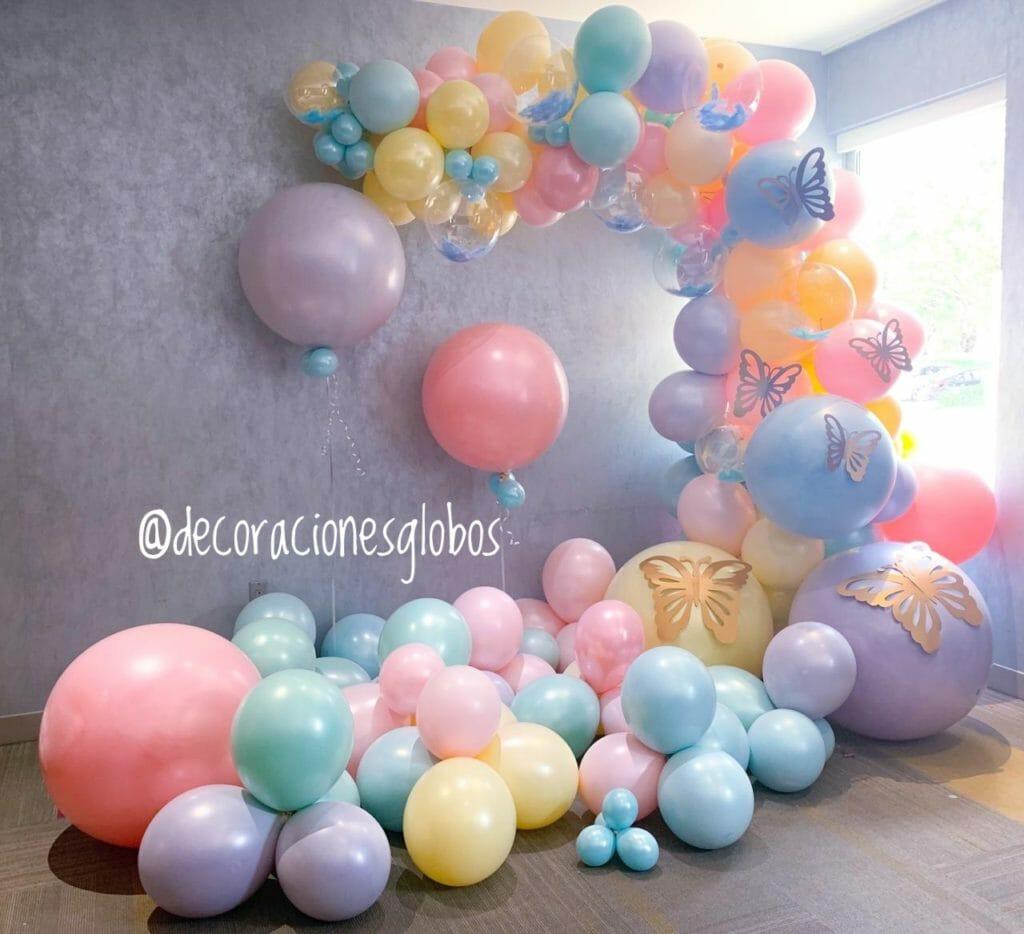 Decoraciones Globos Balloon Arch Spring Miami Venezuela