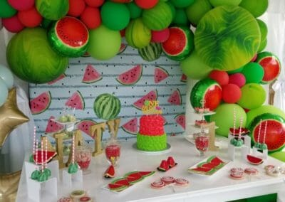 Balloon Arch Watermelon
