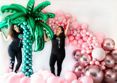 Decoraciones Globos Balloon Arch Tropical Miami Venezuela