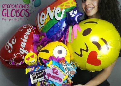 DecoracionesGlobos.com Genesis e Iravid Nieves Miami Venezuela Bouquets Balloons Historia