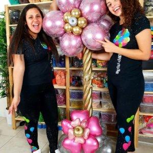 columns balloons flores - www.decoracionesglobos.com miami venezuela