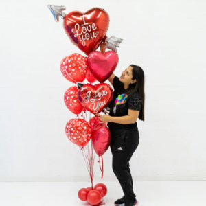 Bouquets Valentines Balloon Bunches
