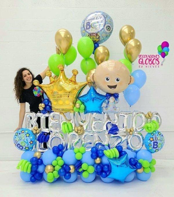 BOUQUET BIENVENIDO BEBE 384.50 @decoracionesglobos www.decoracionesglobos.com Birthday DecoracionesGlobos.com Miami Venezuela Bouquets Decoraciones