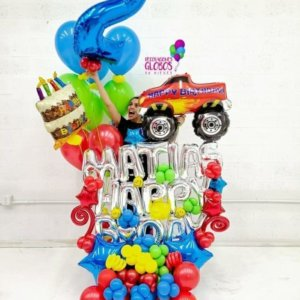 Bouquet Birthday Cars 245.70 @decoracionesglobos www.decoracionesglobos.com Birthday DecoracionesGlobos.com Miami Venezuela Bouquets Decoraciones