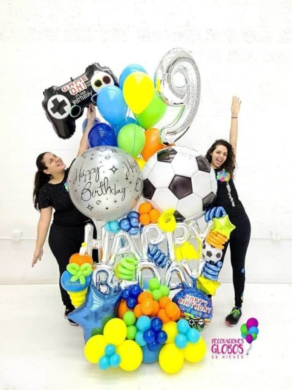 BALLOON BOUQUETS GAME SPORT