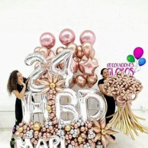 Wow Surprise Amazing @decoracionesglobos www.decoracionesglobos.com Birthday DecoracionesGlobos.com Miami Venezuela Bouquets Decoraciones