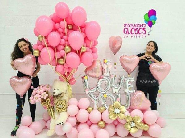 Nuevo Bouquet Victoria 650 DECORACIONESGLOBOS GRADUATIONS GRADOS CELEBRACION FIESTA FELICITACIONES REGALOS DETALLES BOUQUETS BALLOONS