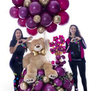 THE GREAT CALIFORNIA, Decoraciones Globos, Genesis Nieves, Iravid Nieves, Balloon Bouquets