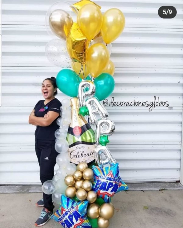 DAD CELEBRATE Bouquet Balloon Decoraciones Globos Miami Caracas Decorations Trofeo Azul Feliz Regalo Dia del Padre Sorpresa Detalles Gift  el dia del padre regalos para el dia del padre regalos dia del padre regalos dia del padre regalos originales 5 regalos para el dia del padre regalos para dia del padre