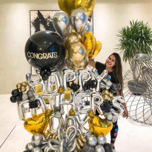 HAPPY FATHERS DAY Bouquet Balloon Decoraciones Globos Miami Caracas Decorations Trofeo Azul Feliz Regalo Dia del Padre Sorpresa Detalles Gift  el dia del padre regalos para el dia del padre regalos dia del padre regalos dia del padre regalos originales 5 regalos para el dia del padre regalos para dia del padre