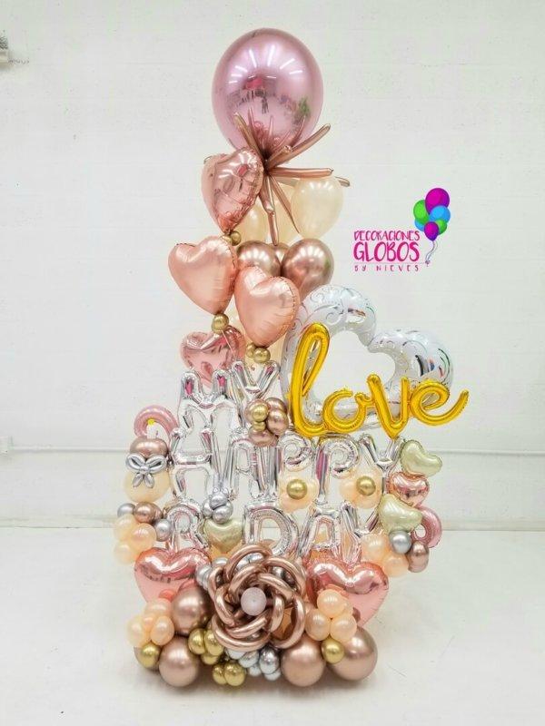 6 - Bouquet My love - Balloon Bouquets - Decoraciones Globos Miami Caracas