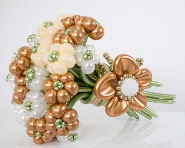 BALLOON BUNCHES AMAZING FLOWERS DELUXE DECORACIONESGLOBOS.COM BALLOON BUNCHES