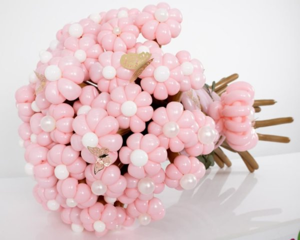 BALLOON BUNCHES AMAZING FLOWERS CUTE DECORACIONESGLOBOS.COM BALLOON BUNCHES