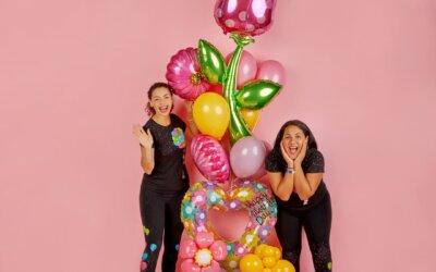 Genesis Nieves e Iravid Nieves con Decoraciones Globos llevan las celebraciones a un nuevo nivel