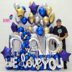 MAXI BOUQUET FOR DAD Bouquet Balloon Decoraciones Globos Miami Caracas Decorations Trofeo Azul Feliz Regalo Dia del Padre Sorpresa Detalles Gift el dia del padre regalos para el dia del padre regalos dia del padre regalos dia del padre regalos originales 5 regalos para el dia del padre regalos para dia del padre