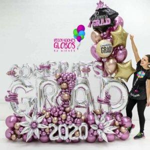 Maxi-bouquet Congrats GRAD $535.70 Graduaciones Graduations Celebrate Party Goals Gift Surprises Grad Deocraciones