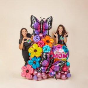 BALLOON BOUQUET MOMMY BOHEMIA DECORACIONESGLOBOS.COM MOTHER'S DAY DIA DE LAS MADRES DECORACIONES BALLOON BOUQUET