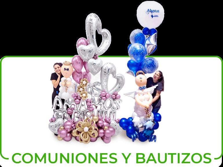 BALLOON BOUQUETS COMUNIONES Y BAUTIZOS