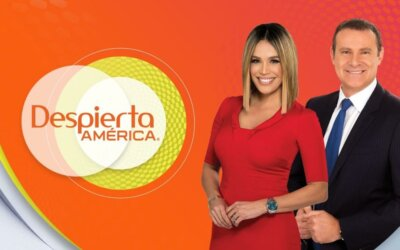 Univision, Despierta America, Reportaje de Guinnes World Record por la frase mas grande del mundo hecha con globos